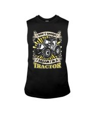 I DON'T SNORE I DREAM I'M A TRACTOR T-Shirt Sleeveless Tee thumbnail