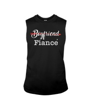 Engagement Boyfriend Fiance T-Shirt Sleeveless Tee tile