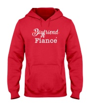 Engagement Boyfriend Fiance T-Shirt Hooded Sweatshirt tile
