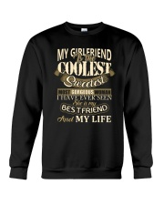 MY GIRLFRIEND IS MY LIFE T-Shirt Crewneck Sweatshirt thumbnail