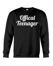 Offical Teenager Birthday 13 Thirteen Shirt Crewneck Sweatshirt thumbnail