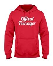 Offical Teenager Birthday 13 Thirteen Shirt Hooded Sweatshirt thumbnail