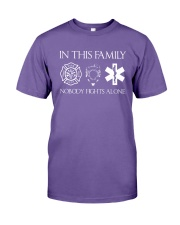 Firefighter Police Nurse In this Family Premium Fit Mens Tee thumbnail