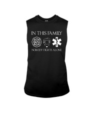 Firefighter Police Nurse In this Family Sleeveless Tee thumbnail