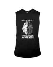 Wired Differently Tourette Syndrome Awareness T-Sh Sleeveless Tee thumbnail