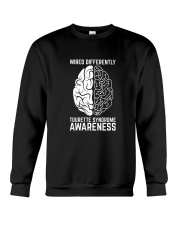 Wired Differently Tourette Syndrome Awareness T-Sh Crewneck Sweatshirt thumbnail