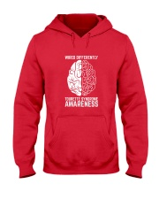 Wired Differently Tourette Syndrome Awareness T-Sh Hooded Sweatshirt thumbnail