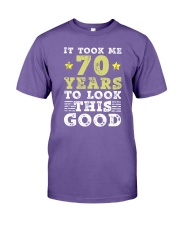70th Birthday Gift Took Me 70 Years - 70 Year Old  Premium Fit Mens Tee thumbnail