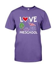 Preschool Teacher Love Preschool T-Shirt Premium Fit Mens Tee thumbnail
