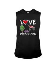 Preschool Teacher Love Preschool T-Shirt Sleeveless Tee thumbnail