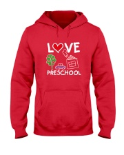 Preschool Teacher Love Preschool T-Shirt Hooded Sweatshirt thumbnail