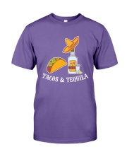 Tacos And Tequila T-Shirt Premium Fit Mens Tee thumbnail
