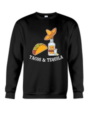 Tacos And Tequila T-Shirt Crewneck Sweatshirt thumbnail