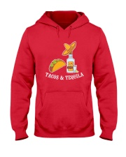 Tacos And Tequila T-Shirt Hooded Sweatshirt thumbnail