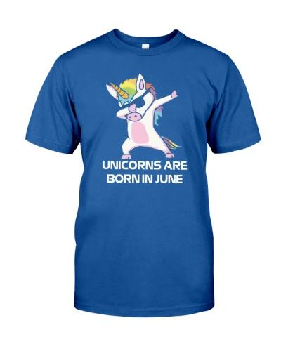 Unicorns are Born in JUNE Cute Dabbing Birthday