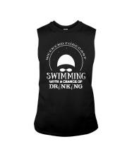 Weekend Forecast Swimming T-Shirt Sleeveless Tee thumbnail