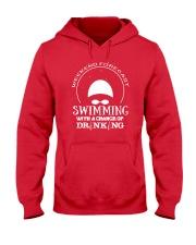 Weekend Forecast Swimming T-Shirt Hooded Sweatshirt thumbnail