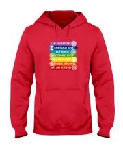 7 Chakra Vibration Uplifting T-Shirt Hooded Sweatshirt thumbnail