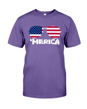 'Merica Patriotic Independence Day USA Summer Premium Fit Mens Tee thumbnail