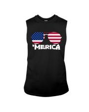'Merica Patriotic Independence Day USA Summer Sleeveless Tee thumbnail