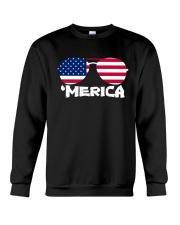 'Merica Patriotic Independence Day USA Summer Crewneck Sweatshirt thumbnail