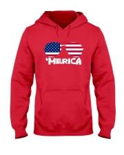 'Merica Patriotic Independence Day USA Summer Hooded Sweatshirt thumbnail