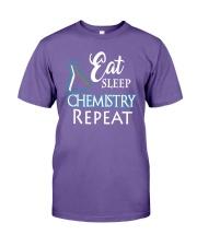 Funny Eat Sleep Chemistry Repeat TShirt Premium Fit Mens Tee thumbnail