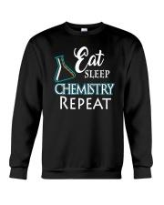 Funny Eat Sleep Chemistry Repeat TShirt Crewneck Sweatshirt thumbnail