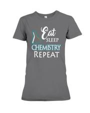Funny Eat Sleep Chemistry Repeat TShirt Premium Fit Ladies Tee thumbnail
