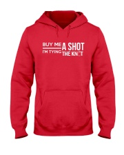 Bachelor  Bachelorette Party - Groom  Bride Hooded Sweatshirt thumbnail