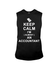 Keep calm I am almost an Accountant T-Shirt Sleeveless Tee thumbnail