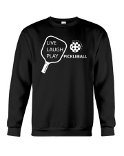 Live Laugh Play Pickleball T-shirt Pickleball Gift Crewneck Sweatshirt thumbnail