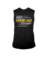 Beer Make 4th of July Great Again Sleeveless Tee thumbnail