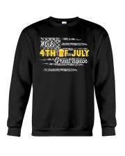 Beer Make 4th of July Great Again Crewneck Sweatshirt thumbnail
