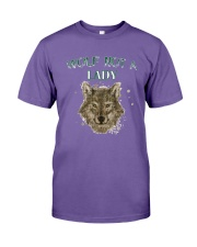 WOLF  NOT A LADY T-Shirt Premium Fit Mens Tee thumbnail