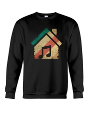 Vintage Retro House Music T-Shirt Crewneck Sweatshirt tile