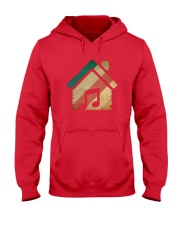 Vintage Retro House Music T-Shirt Hooded Sweatshirt tile