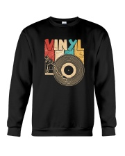 Retro Distressed Vinyl Record Turntable T-Shirt Crewneck Sweatshirt thumbnail
