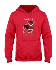 OWNED BY A CHIWEENIE Cute Chiweenie Dog Shirt Hooded Sweatshirt thumbnail
