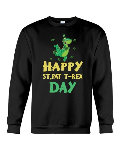 Happy St Pat T-rex Day Cute St Patrick's Day