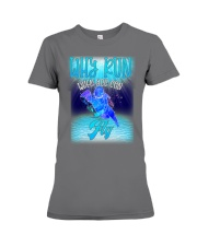 Why Run When You Can Fly Swim Swimmer Premium Fit Ladies Tee thumbnail