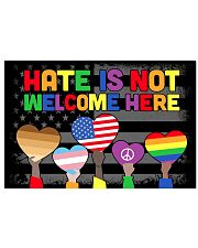 Hate Is Not Welcome Here 17x11 Poster front