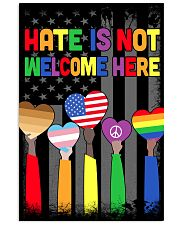 Hate Is Not Welcome Here 11x17 Poster thumbnail
