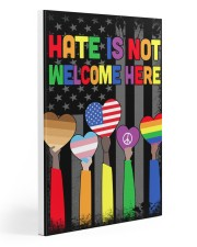 Hate Is Not Welcome Here 20x30 Gallery Wrapped Canvas Prints thumbnail