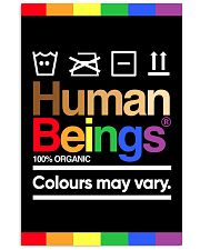 LGBT-Human Beings Poster 11x17 Poster front