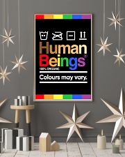 LGBT-Human Beings Poster 11x17 Poster lifestyle-holiday-poster-1