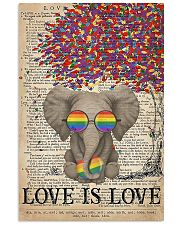 LGBT - Elephant Love Is Love  11x17 Poster front
