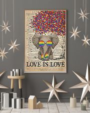 LGBT - Elephant Love Is Love  11x17 Poster lifestyle-holiday-poster-1