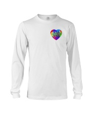 Autism Heart Ornament Long Sleeve Tee thumbnail