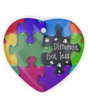 Autism Heart Ornament Heart ornament - single (wood) thumbnail